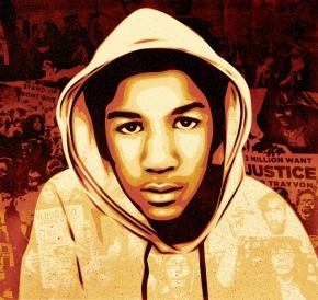 The lesson behind Trayvon: Power, not love, is the answer.